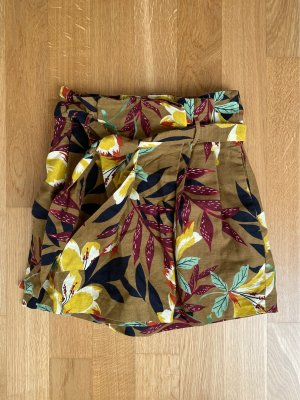 Zara High-Waist-Shorts multicolored