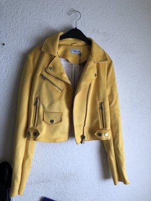Only Biker Jacket yellow