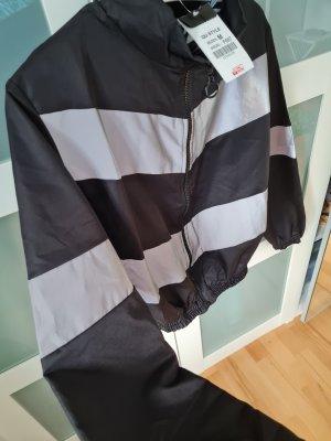 Oversized Jacket black-light grey