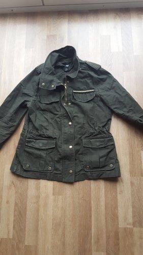 H&M Military Jacket olive green-khaki