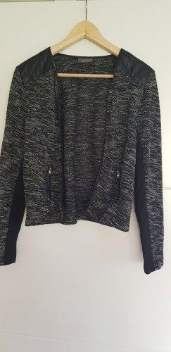 Jessica Short Sleeve Knitted Jacket black