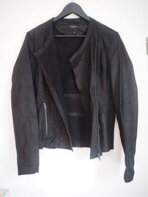 Kurze Jacke aus Leder