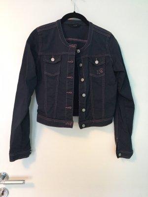 Kurze Jacke (für Kinder und Erwachsene) in dunkelblau