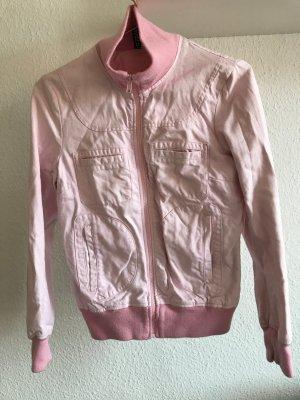 kurze Jacke in rosa, Größe 36