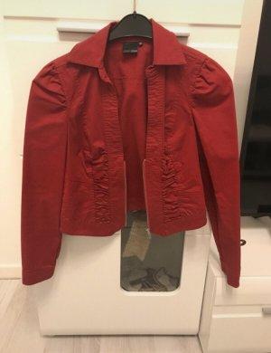Kurze Jacke in rot