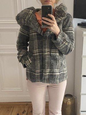Zara Veste en laine multicolore