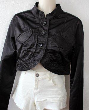 Kurze Jacke, schwarz