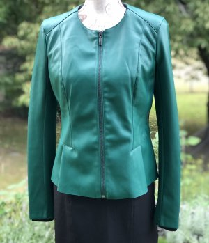 Orsay Faux Leather Jacket green