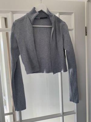 Brandy & Melville Veste courte gris clair