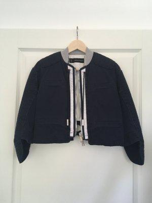 kurze Jacke von Dsquared2 blau weiß