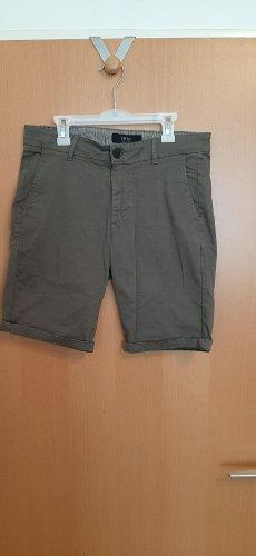 SMOG Denim Shorts multicolored