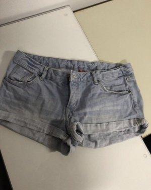 Kurze Jeans Hellblau Hotpants