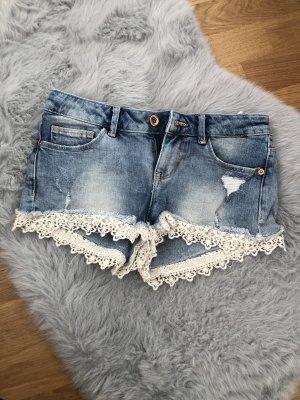Kurze Jeans Hose