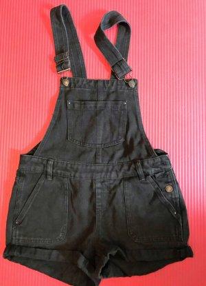 Bib Shorts anthracite cotton