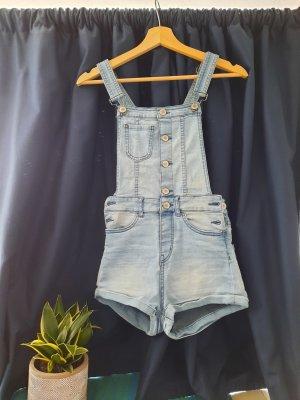 Kurze Jeans Latzshorts