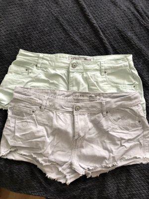 Kurze Jeans Set