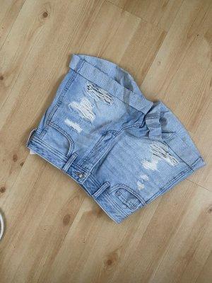 Hollister Pantalón corto de tela vaquera azul