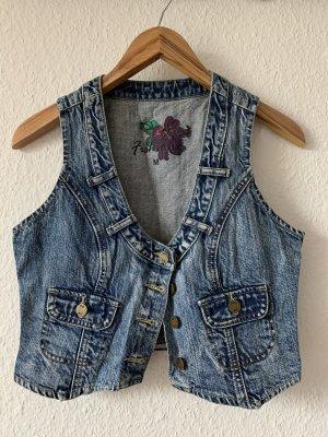 Fishbone Smanicato jeans multicolore