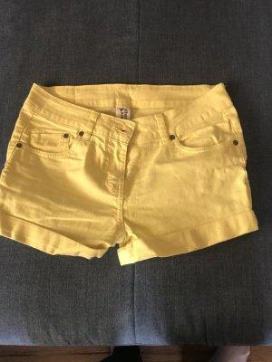 C&A Short en jean jaune coton