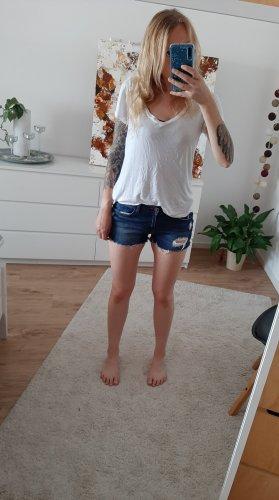 H&M Jeansowe szorty niebieski