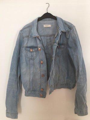 &jacket Denim Jacket baby blue-azure