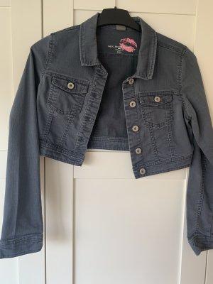 Kurze Jeansjacke Vero Moda Gr.S grau