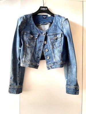 Miss Sixty Denim Jacket steel blue cotton