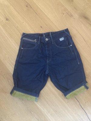 Kurze jeansshort für männer
