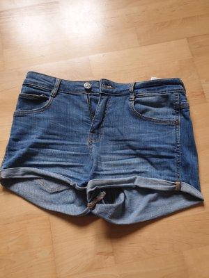 Mango Short en jean bleuet