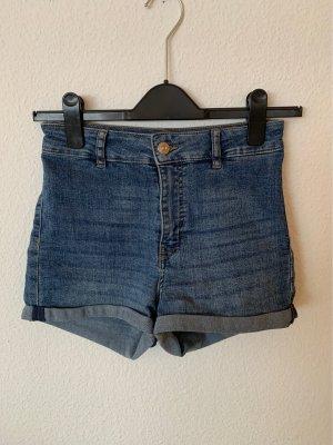 H&M Divided Denim Shorts blue