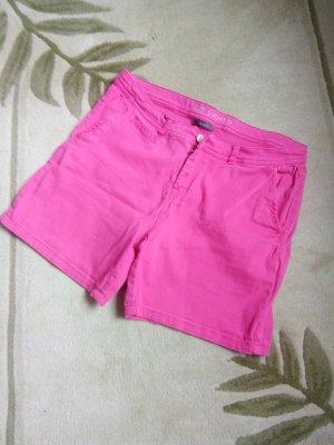 C&A High-Waist-Shorts pink