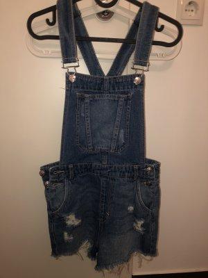 H&M Salopette en jeans bleu