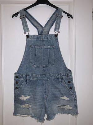 Abercrombie & Fitch Jeans met bovenstuk blauw