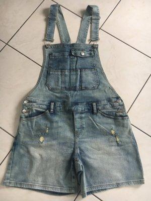 Best mountain Jeans met bovenstuk azuur