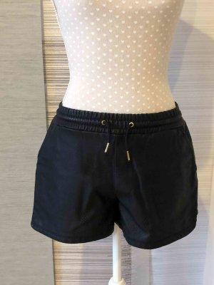 Only Pantalon en cuir noir faux cuir
