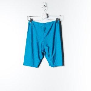 Kurze Leggings im Vintagelook blau