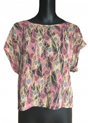 Influence Short Sleeved Blouse multicolored