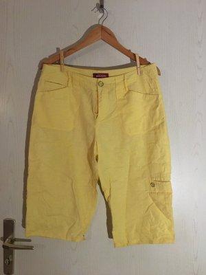 Biaggini Short jaune clair