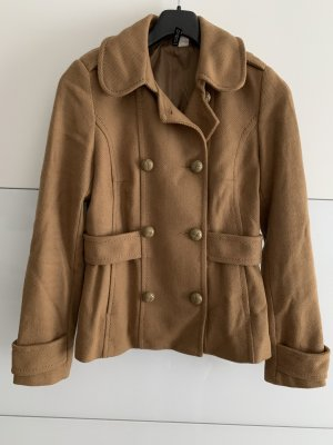 H&M Marynarski płaszcz camel
