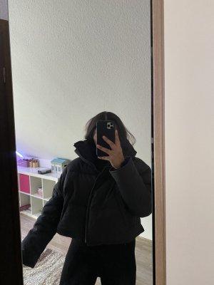 Kurze oversized oversize Jacke Anthrazit schwarz XS Damen neu