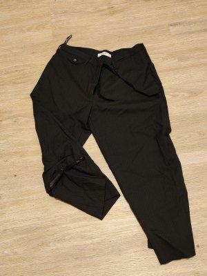 Prada Spodnie garniturowe ciemnoniebieski