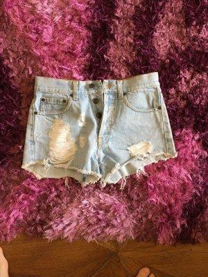 Brandy & Melville Hot Pants azure
