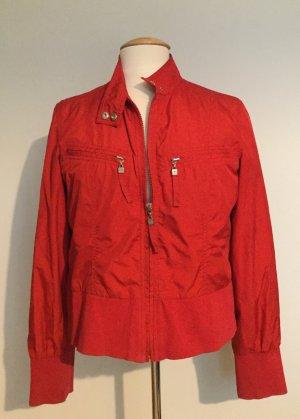 Mexx Blusón rojo ladrillo tejido mezclado