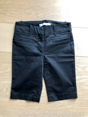 Kurze schwarze Hose Zara Gr. 34