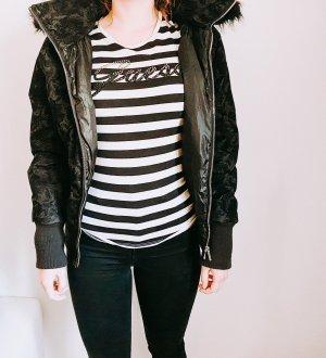 kurze schwarze Jacke Damen