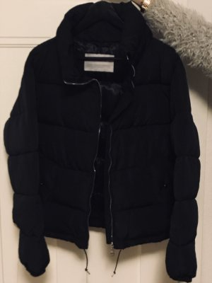 Pull & Bear Quilted Coat black