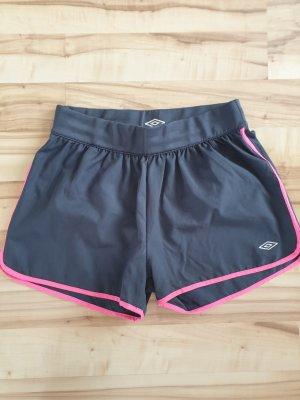 Kurze Shorts, anthrazit-pink, Gr.L (52-EP)