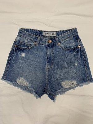 Fishbone Pantaloncino di jeans multicolore