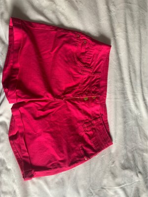 Flame Shorts rosso lampone