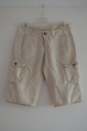 Vero Moda Bermudas beige cotton